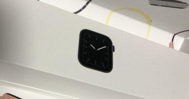 Apple Watch series5はバッテリーめっちゃ長持ち!!!!
